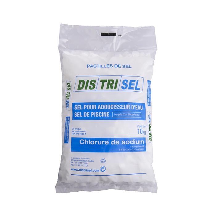 Sel pour adoucisseur d'eau - pastilles - sac 10 kg